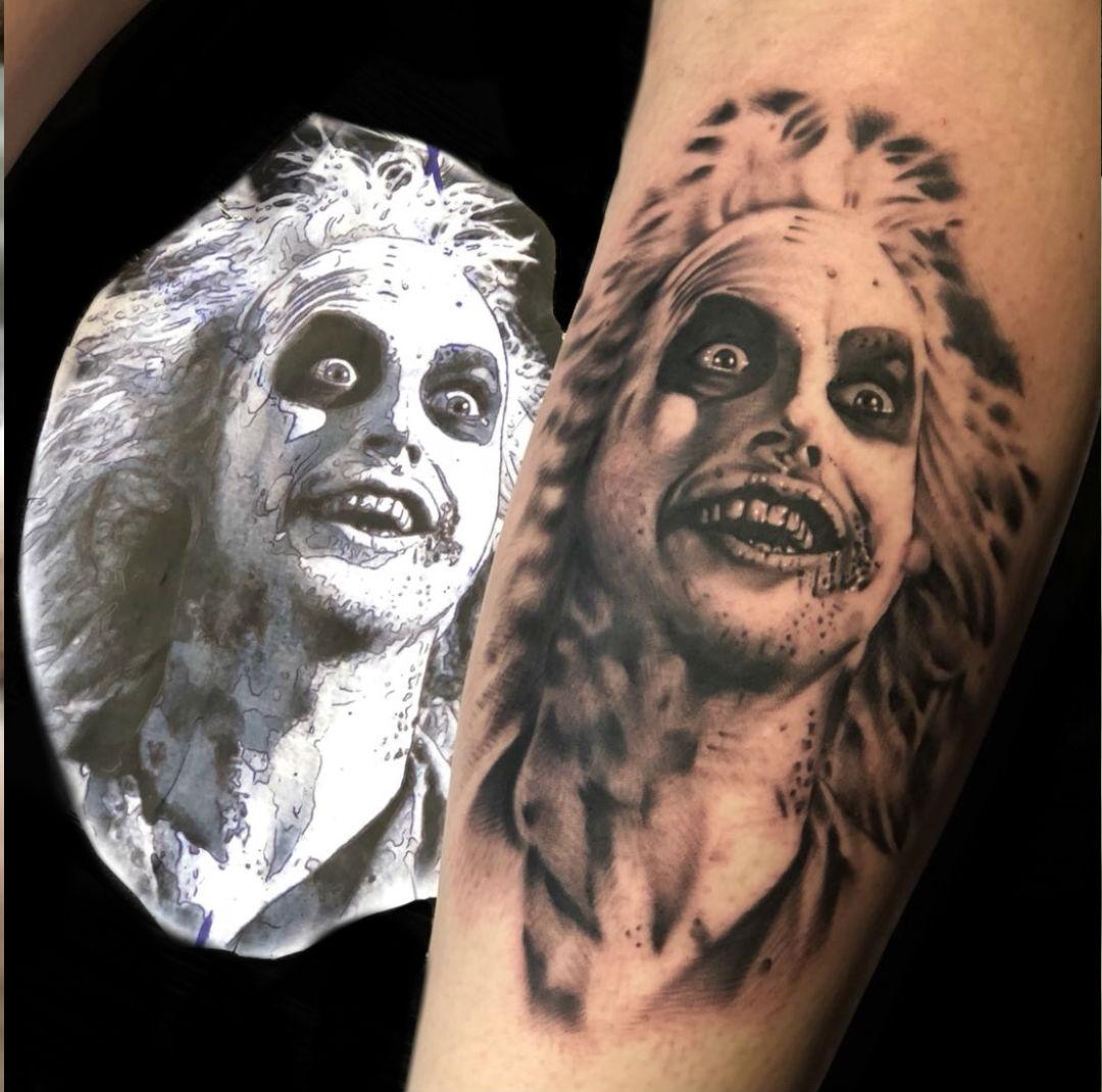Churchill tattoo from Harry Flashmans Tattoo Parlour